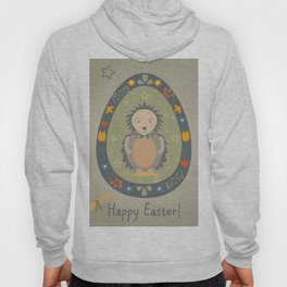Festive Easter Egg with Cute Character Hoody