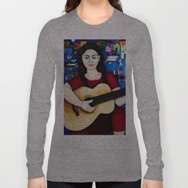 "Violeta Parra - ""Black wedding"" Long Sleeve T-shirt"