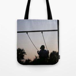 sunset swing Tote Bag
