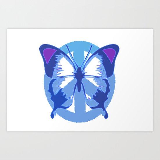 Hollyfly Art Print