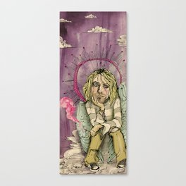 Welcome to the 27 Club: Cobain Canvas Print