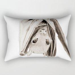 Tiny Fruit Bat Rectangular Pillow