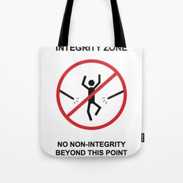 Integrity Zone Tote Bag