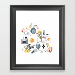 Gilded Palace Of Garbage Framed Art Print