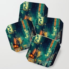 Tokyo Nights / Memories of Green / Blade Runner Vibes / Cyberpunk / Liam Wong Coaster