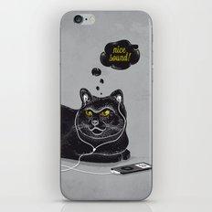 Chilling Cat iPhone Skin