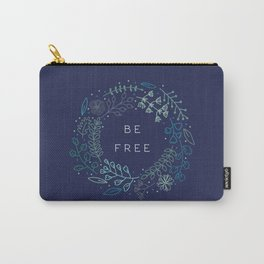 BE FREE - dark blue Carry-All Pouch