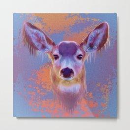 L.S.Deer Metal Print