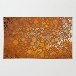 Autumn Atmosphere -- Abstract Rug