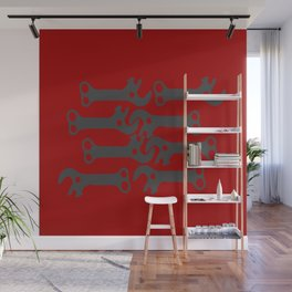 key! red Wall Mural