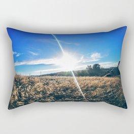 Blue Sky, Soft Winds Rectangular Pillow