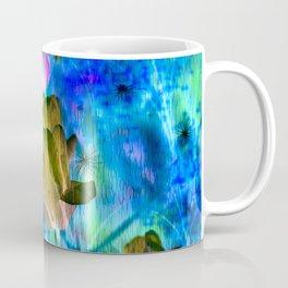 Blue Ocean of Tulips Coffee Mug