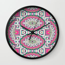 Mix #217 Wall Clock