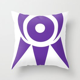 Seeker's Eye - Minimal Throw Pillow