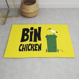 """Aussie """"Bin Chicken"""" Rug"""