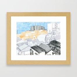 Tokyo landscape Framed Art Print