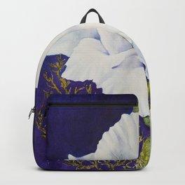 GLAMOROUS GLADIOLAS in WATERCOLORS Backpack