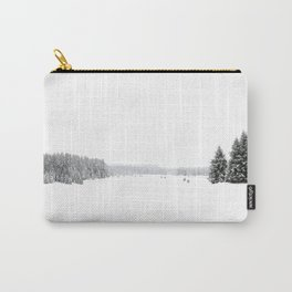 white white WINTER Carry-All Pouch