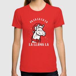 Fa La La La La La Llama La T-shirt