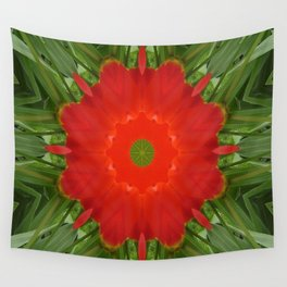 Concentric Nature Wall Tapestry