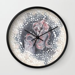 Pretty Ghost Wall Clock