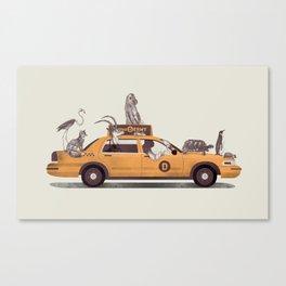 1-800-TAXIDERMY Canvas Print