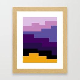 Summer 2016 In Purple Framed Art Print