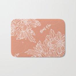 Blooms of Love_Melon Bath Mat