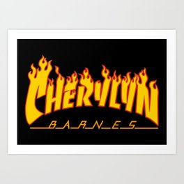 Cherylyn 'Thrashy' Barnes Art Print