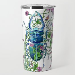 Tangled in flowers Travel Mug