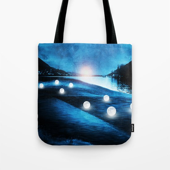 Field of lights Tote Bag