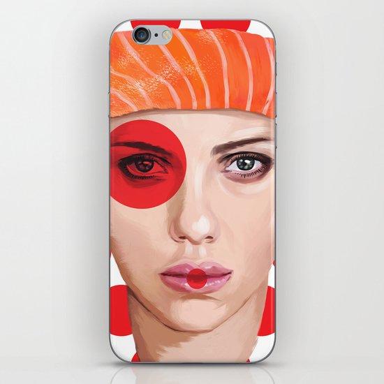 Scarlett Johansson iPhone & iPod Skin