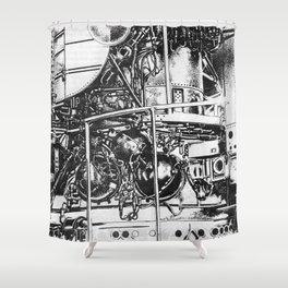 L A B  Shower Curtain