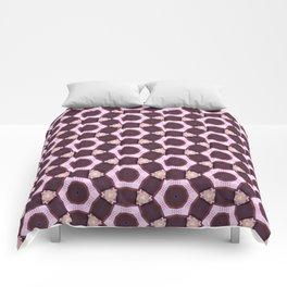 Light Pink Pattern Comforters