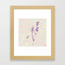 A Pastime Framed Art Print
