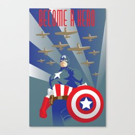 The First Avenger: Captain America Canvas Print
