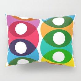 Geometric Pattern #64 (colorful bubbles) Pillow Sham