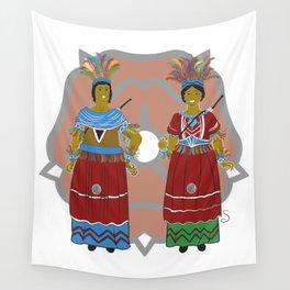 Els Gegants de Reus Wall Tapestry