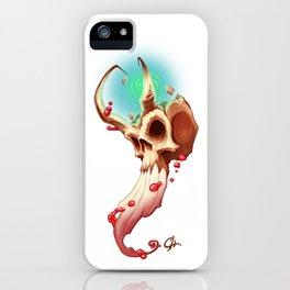 Horned Skull iPhone Case