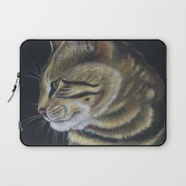 Arnie The Cat Colored Pencil Laptop Sleeve
