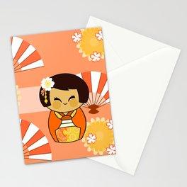 Kokeshi Momo Stationery Cards