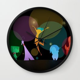 Voices inside my head Wall Clock