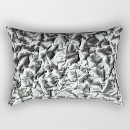Crumpled paper. Rectangular Pillow
