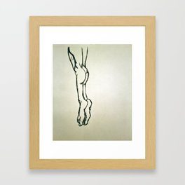 Tippy Toes Framed Art Print