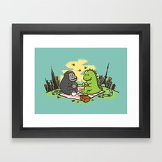 Let's have a break Framed Art Print