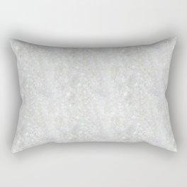 White Apophyllite Close-Up Crystal Rectangular Pillow
