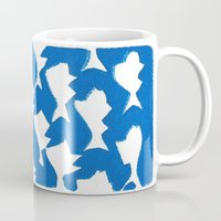 evolution Mugs featuring Evolution by Esther Knox