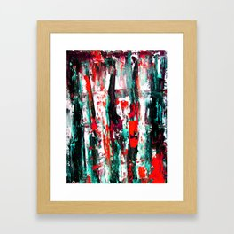 BYN SE Red Framed Art Print