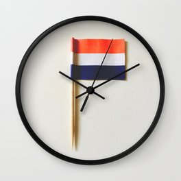 cocktail prikker  Wall Clock