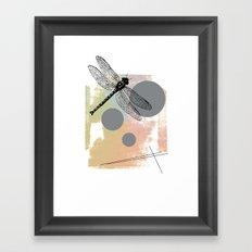 Dragonfly (variant) Framed Art Print